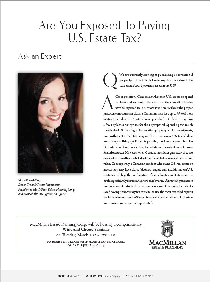 Are You Exposed to Paying U.S. Tax?